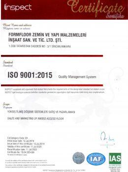 FORMFLOOR ISO 9001_2019