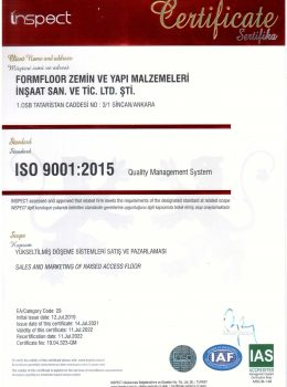 ISO 9001-2021